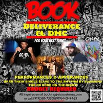 DMC DeLiverance Booking