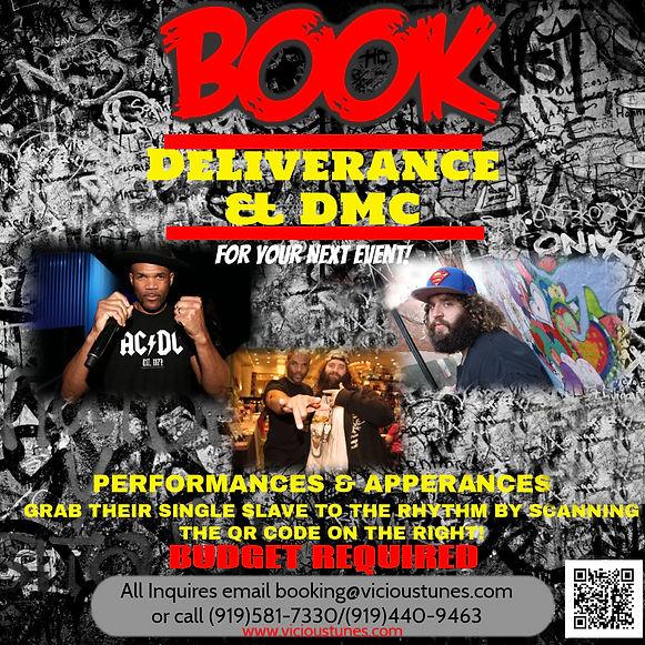 Book DMC (of RunDMC) and DeLiverance