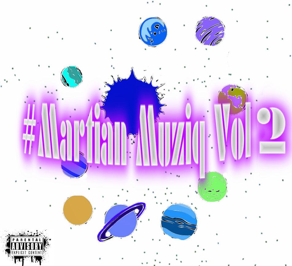 front cover martian mixtape 2