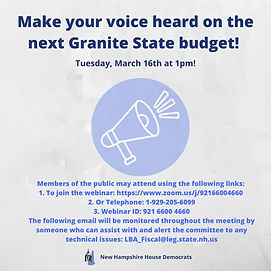 Make your voice heard on the next Granit