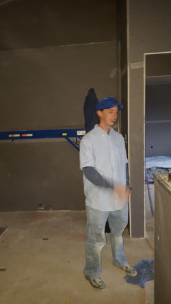 plaster new home