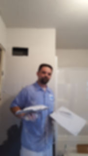 bathroom plaster repair