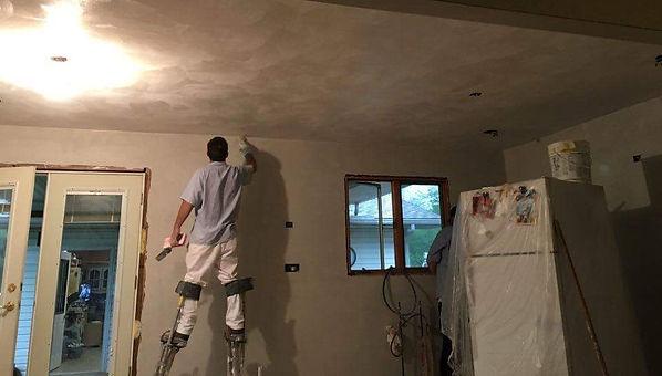 kitchen plaster repair