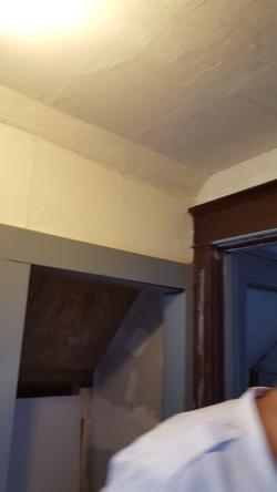 Plaster around trim