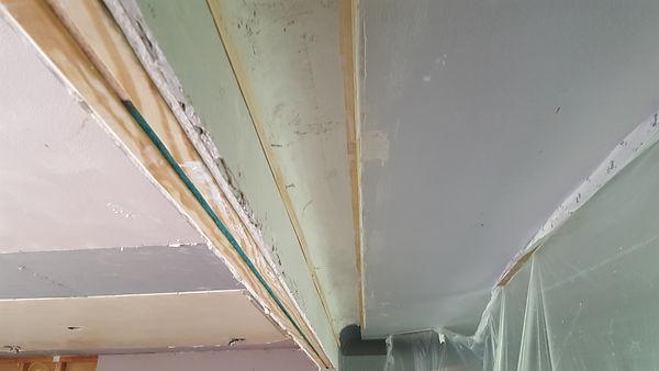 plaster cove second coat