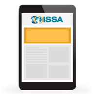 tablet with issa site on it