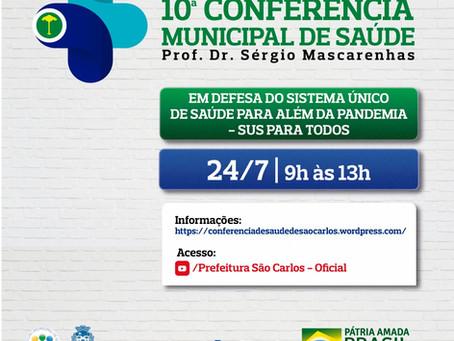10ª Conferência Municipal de Saúde