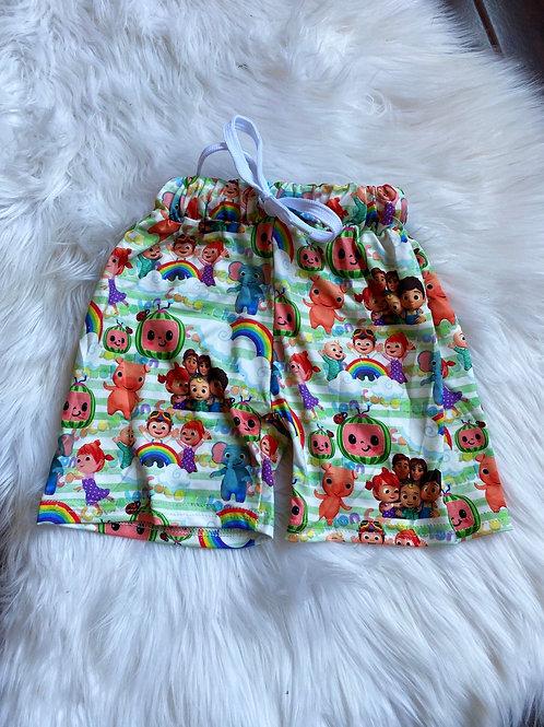 Coco melon shorts