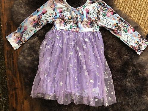 Ice princess Tulle Dress