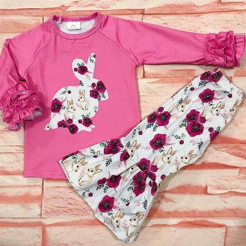 Floral Bunny Set