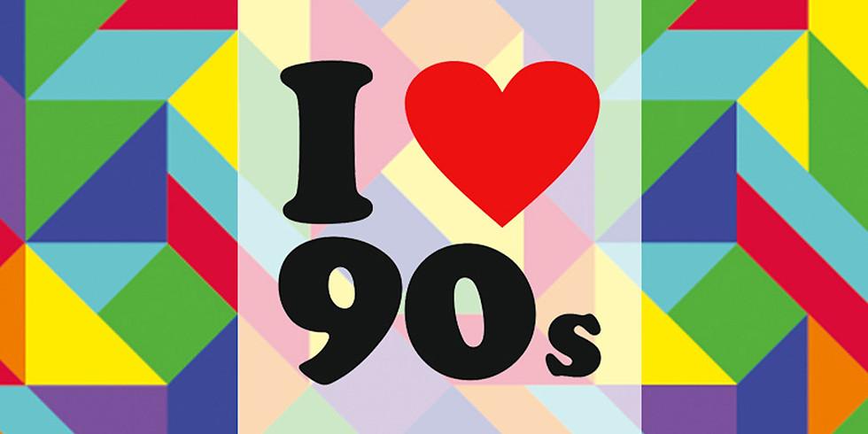 Wir lieben die 90er! Party
