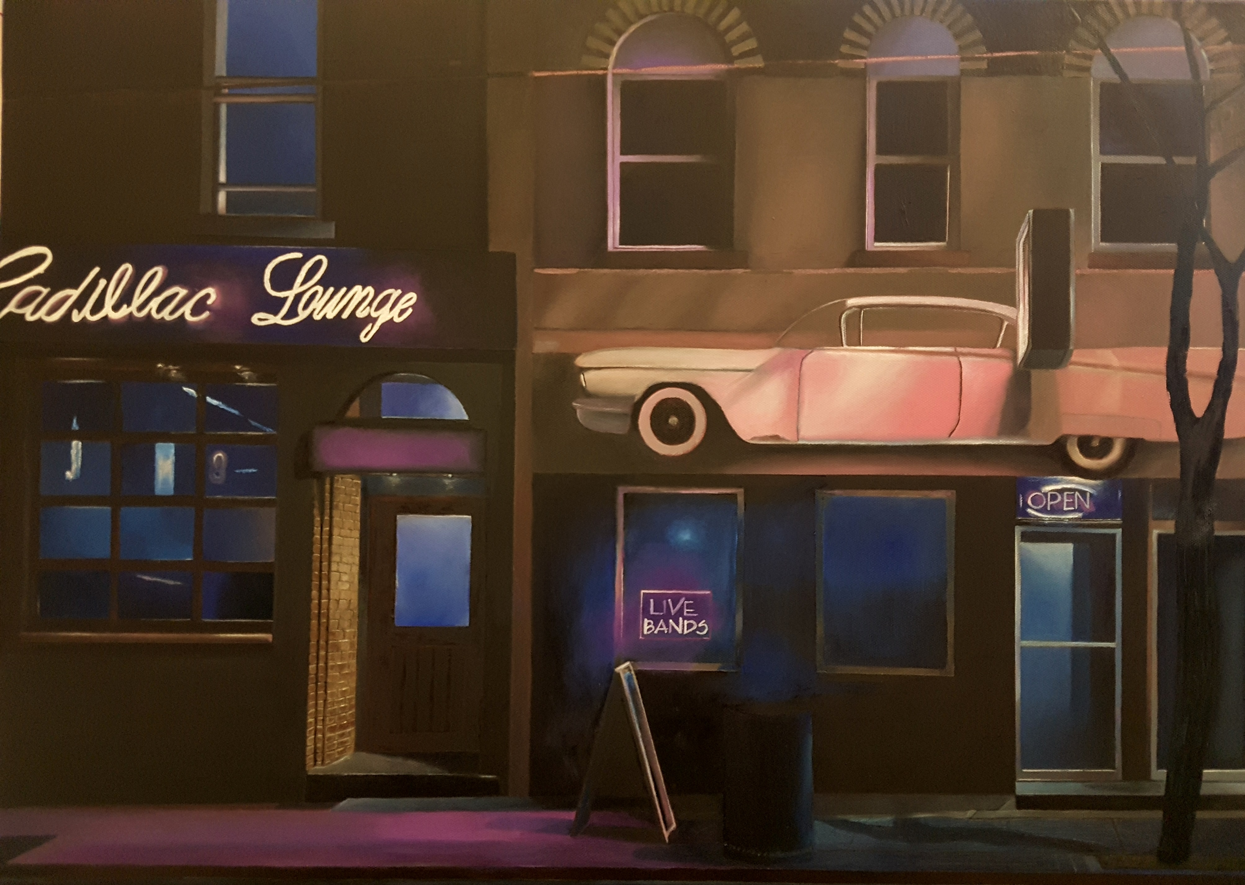 Oel - 70 X 50 - Cadillac Lounge