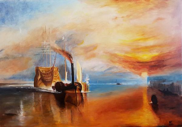 Acryl - 80  X 60 - Kopie William Turner