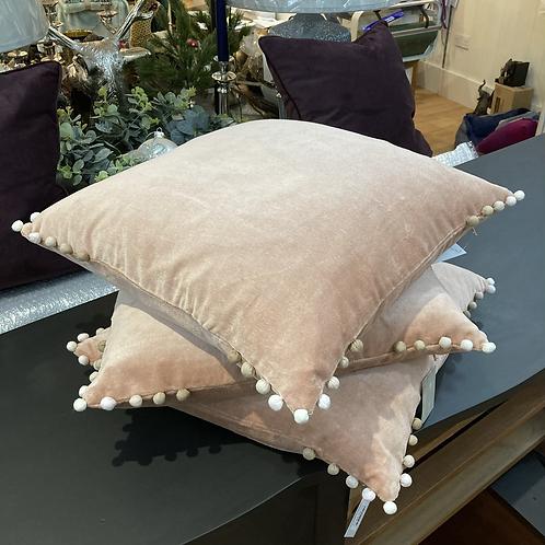 Velvet Feather Filled Cushion