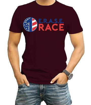 E.R.A.S.E. erase the race Tshirt