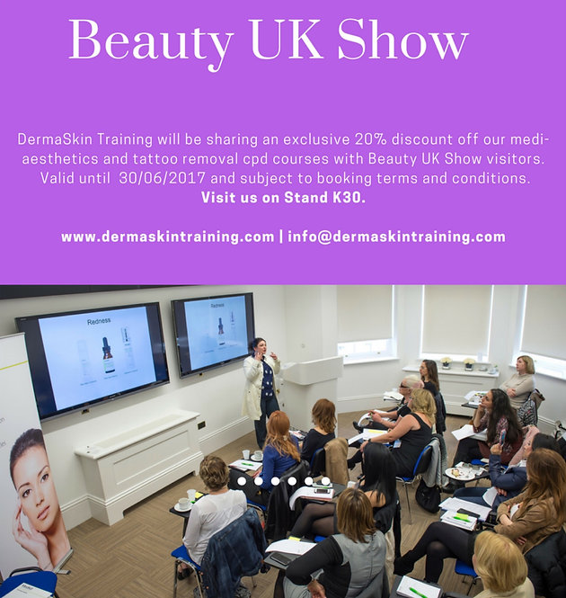 Beauty UK Show, NEC Birmingham | Medi-Aesthetics Courses