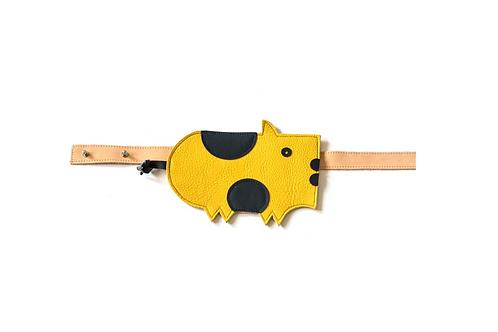 DIDA belt bag Pig - Yellow