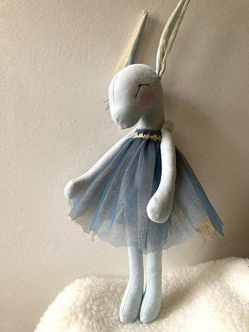 Miss Bunny ballerina - Blue Tutu