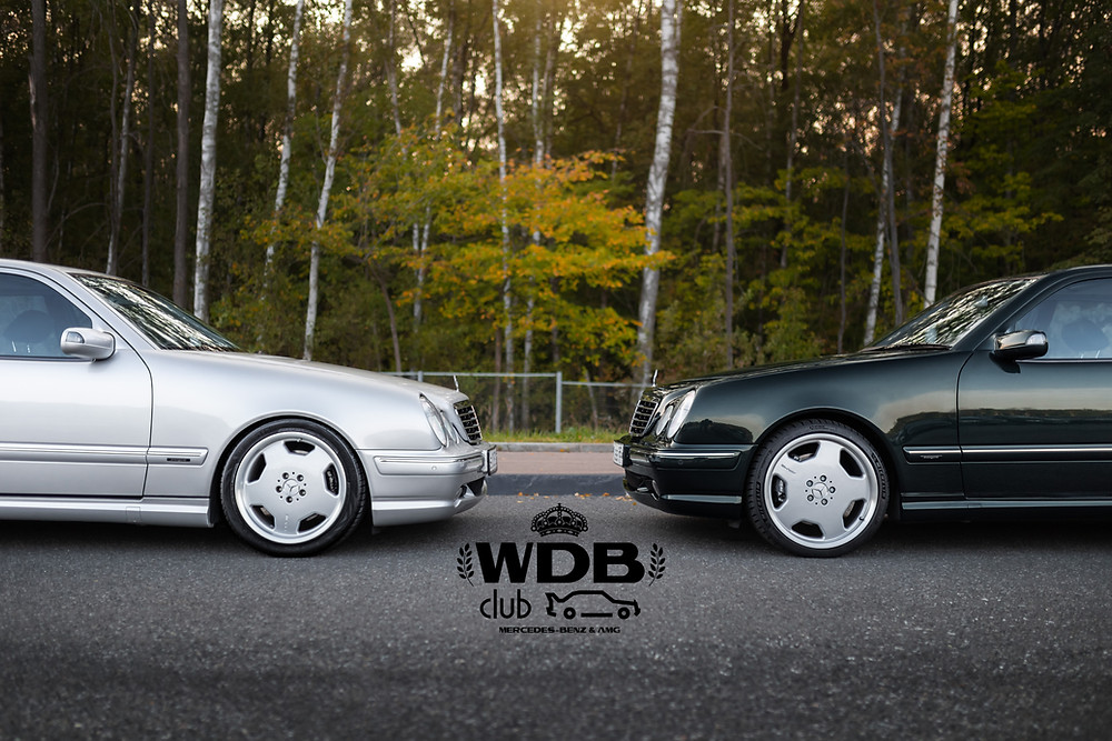 Mercedes-Benz E 55 AMG (W210) | Photo © WDB CLUB