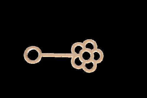 Flower eco bubble wand