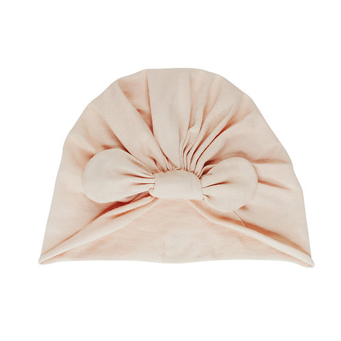 Knot beanie - Perfect nude