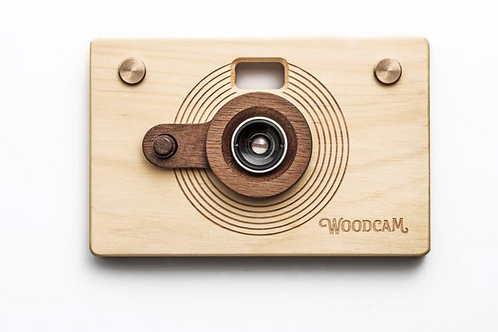 Point & shoot wooden digital camera