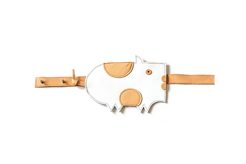 DIDA belt bag Pig- White