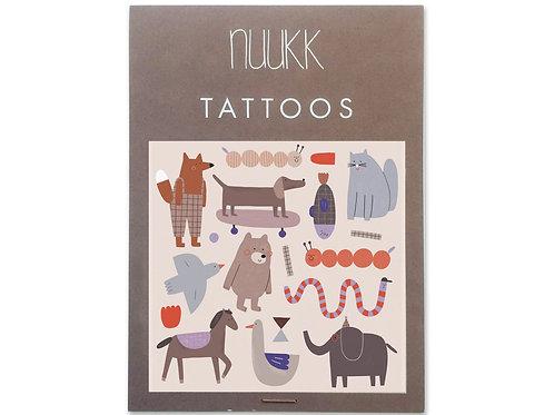 Bear & friends - Organic tattoos