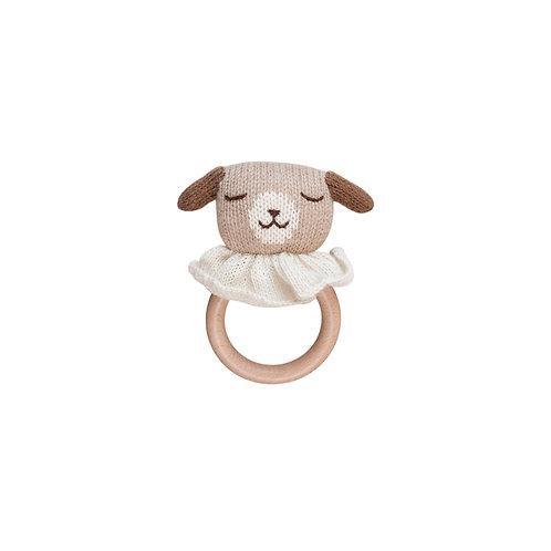 Puppy teething ring