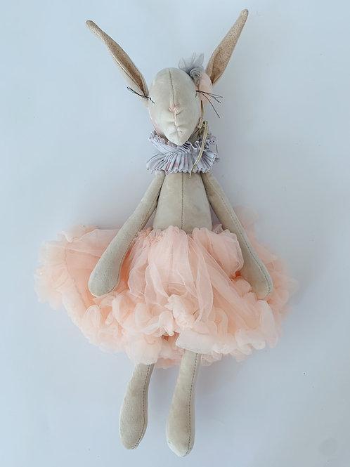 Miss Bunny ballerina - Peach Tutu