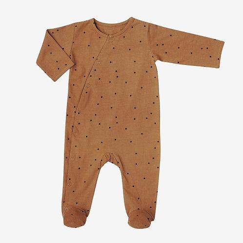 Baby suit - Dots Nut