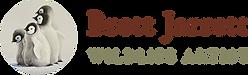 Brett Jarrett Wildlife Artist Logo Bay of Whales Gallery