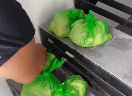 9 Food Packs to Senior Citizens