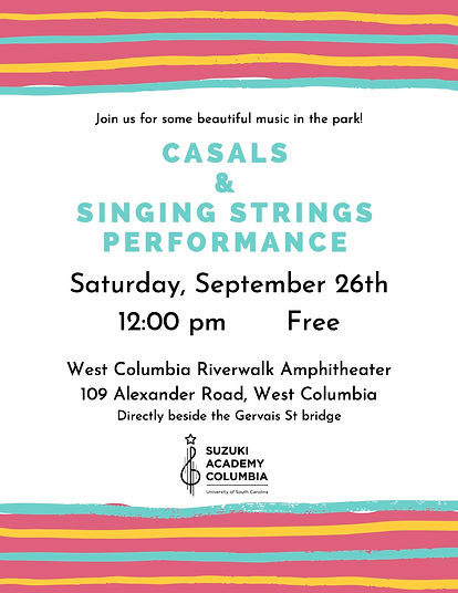 casals and singing strings performance p
