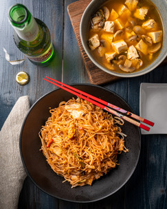 Chicken Pad Thai & Lemongrass Soup Image