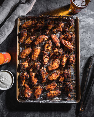 Fried Chicken Wings | Food Photography