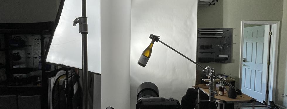 BTS - Wine Bottle Shoot