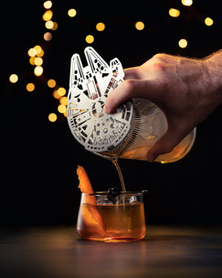 Millennium Falcon cocktail strainer Image