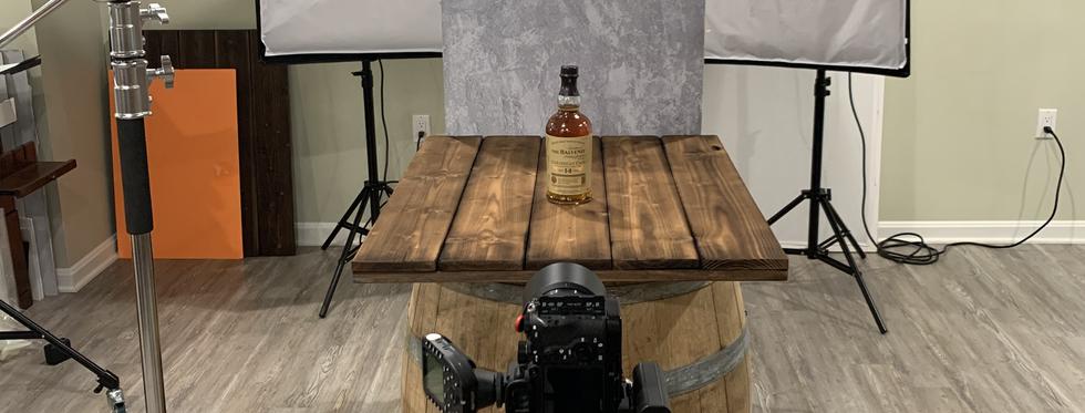 BTS - Whiskey Bottle Shoot