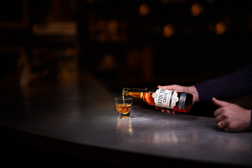 Catoctin Creek Rye Whisky Pour Image