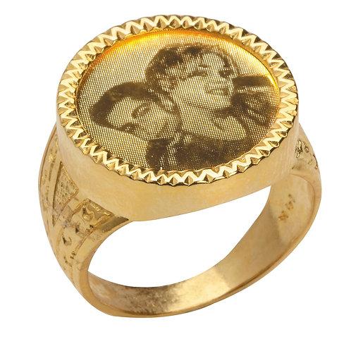 טבעת עם חריטה אישית