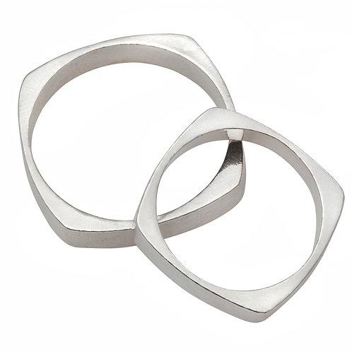 טבעת נישואין לפי הקבלה מכסף