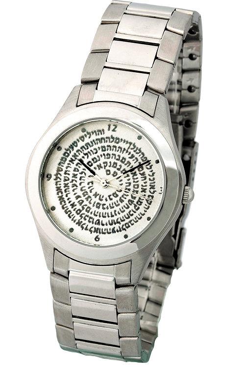 """שעון קבלה ע""""ב השמות"""
