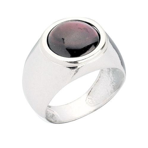 טבעת מוצפנת עגולה גרנט