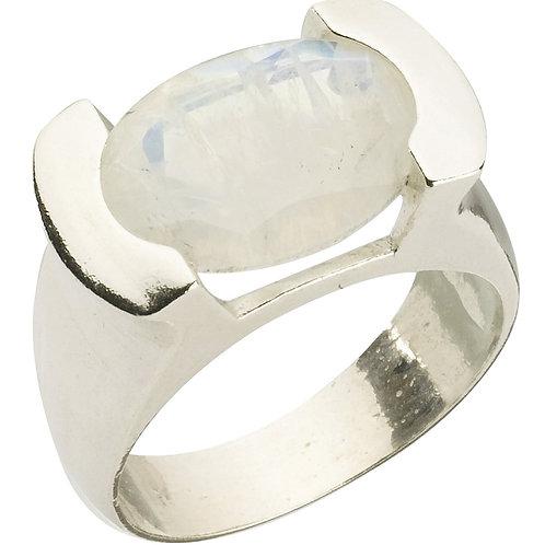 טבעת מוצפנת אובלית מונסטון