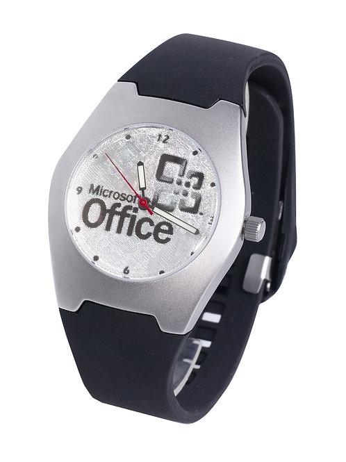 שעון ממותג לוח כסף