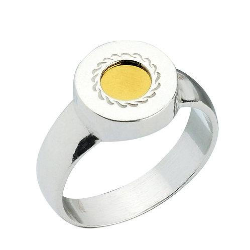 טבעת 5 מתכות ללא כיתוב