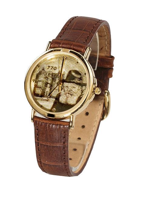 שעון חריטה אישית לוח זהב