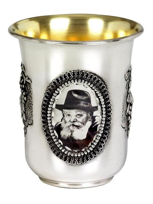כוס קידוש אהרון עם תמונה