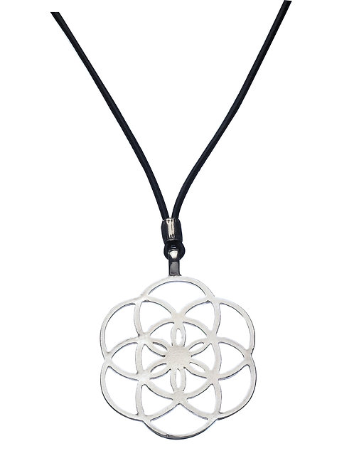 Seed of Life Geometry pendant